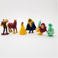 Figurine pentru tort - ''Frumoasa si Bestia''