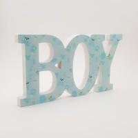 Decor din lemn - ''Boy''