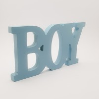 Decor din lemn - ''Boy''
