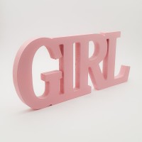 Decor din lemn - ''Girl''