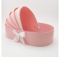 Cutie tip landou - roz pudra