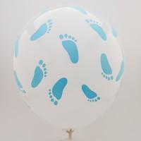Set 10 baloane picioruse - baietel