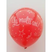 Set 10 baloane diverse culori - ''la multi ani''