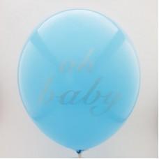 Set 10 baloane - ''oh baby''