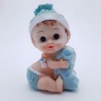 Figurina bebelus baietel cu perinita