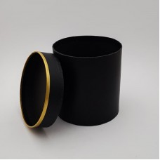 Cutie de carton - rotunda neagra