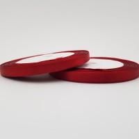Rola saten 0,5 cm - rosu sangeriu