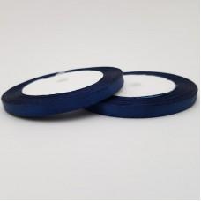 Rola saten 0,5 cm - albastru inchis