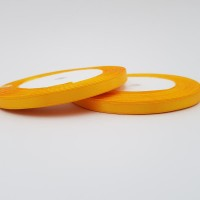 Rola saten 0,5 cm - amber