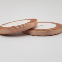 Rola saten 0,5 cm - cappuccino