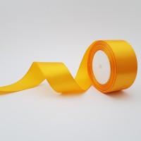 Rola saten 4 cm - amber