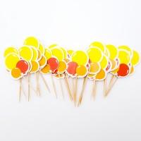 Scobitori - ''Baloane'' pentru candy-bar