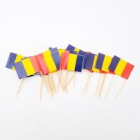 Scobitori - ''Drapelul Romaniei'' pentru candy-bar