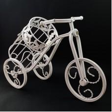 Suport bicicleta sticla de vin - metal