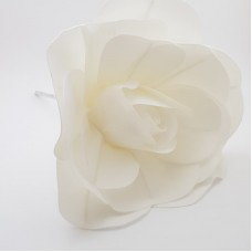 Floare spuma 20 cm - alba