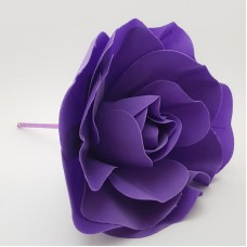 Floare spuma 20 cm - mov