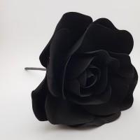 Floare spuma 20 cm - neagra