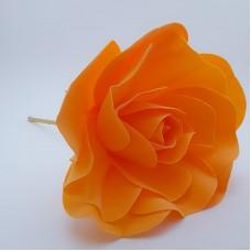 Floare spuma 20 cm - portocalie
