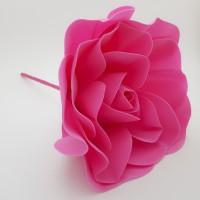 Floare spuma 20 cm - roz