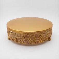 Suport elegant prajitura - auriu (mic-mare)