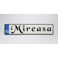 Placute de inmatriculare personalizate nunta - ''Mireasa''