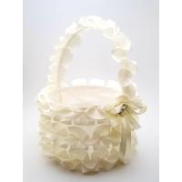 Cosulet petale nunta cream