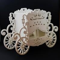 Cutie dar - ''Caleasca'' nunta