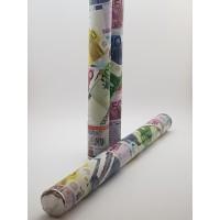 Tun confetti 58 cm - bancnote  euro
