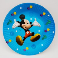 Set 10 farfurii carton - ''Mickey Mouse''