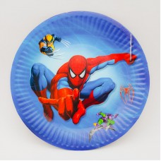 Set 10 farfurii carton - ''Spiderman''