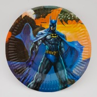 Set 10 farfurii carton - ''Batman''