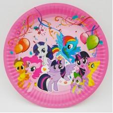 Set 10 farfurii carton - ''My little pony''