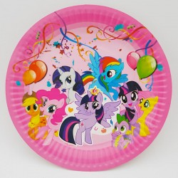 Set 10 farfurii carton - ''My little pony''