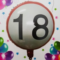 Balon folie - ''18''
