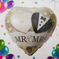 Balon folie - ''Mr & Mrs''