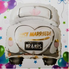 Balon folie - ''Just Married''