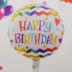 Balon folie - ''Happy Birthday''