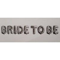 Set baloane folie ''Bride to be''