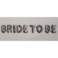 Set baloane folie ''Bride to be''