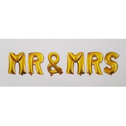 Set baloane folie '' Mr & Mrs''