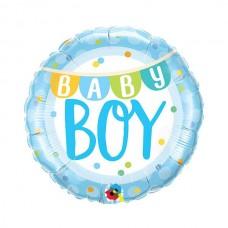 Balon folie Baby Boy Banner