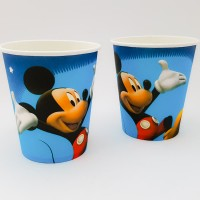 Set 10 pahare carton - ''Mickey Mouse''