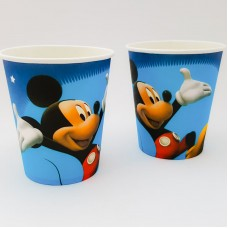 Set 10 pahare carton - ''Mickey Mouse''