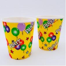Set 10 pahare carton - ''Party''