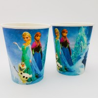 Set 10 pahare carton - ''Elsa''