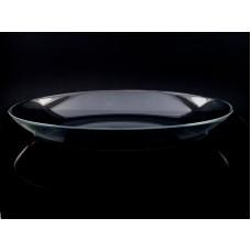 Platou de sticla oval - ''invitation''