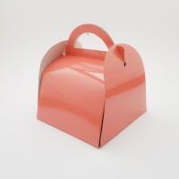 Cutie prajitura 12 x 12 cm - roz