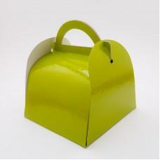 Cutie pajitura 12 x 12 cm - verde deschis