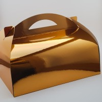 Cutie prajitura 34 x 25 CT3 - auriu