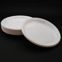 Farfurii unica folosinta 20 cm plate albe